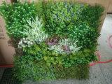 El verdor artificial se chiba los paneles del recubrimiento de paredes de las plantas