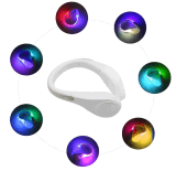 Clip chiara istantanea del pattino di funzionamento LED di sport