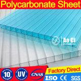 Transparentes Polycarbonat-Tageslicht, das freies Blatt Roofing ist