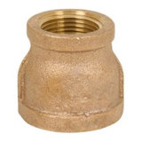 Acoplamento de diminuição de bronze rosqueado 125#