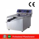 13L profonde en acier inoxydable friteuse électrique de l'appareil de cuisine avec la CE (WF-131)