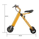 Горяче продающ 3 самокаты/велосипеда колес электрических складывая