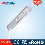 PIR 운동 측정기를 가진 대중적인 안전 LED 태양 가로등