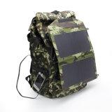 12W屋外の太陽二重USBは5V 2.4Aの電話パソコンの充電器を移植する