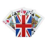Impression polychrome personnalisée annonçant Playingcards, tisonnier, boîte de présentation