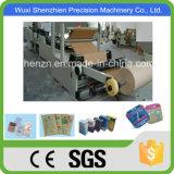 SGS de alta velocidad y eficiencia de papel cuadrado bolsa de la máquina