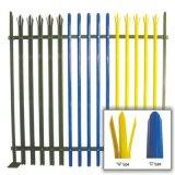 Recinzione d'acciaio del Palisade del metallo spruzzata PVC/rete fissa del giardino