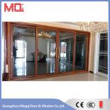 De Drievoudige Schuifdeur van het Aluminium van het Balkon van het glas