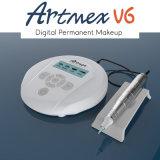 Máquina cosmética Semi-Permanent Artmex V6 do tatuagem para o estilo de Coreia camuflar da cicatriz