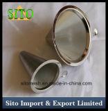 Goutteur de café, filtre perforé en acier inoxydable
