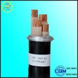 Câble d'alimentation du conducteur 600V XLPE d'en cuivre d'isolation de XLPE