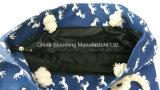 Sacchetto casuale della tela di canapa del Tote della corda di personalità delle donne femminili della spiaggia