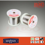 Fio de aquecimento da resistência da liga de níquel de cobre (NC003 / NC005 / NC010 / NC012 / MC012 / NC020 / NC030 / NC040 / NC050)