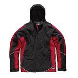 Chaqueta suave 100% del invierno de los hombres de la chaqueta de shell del poliester para trabajar