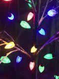 Coloridas luces LED de la decoración de Navidad