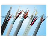 Rg59 Siamese Kabel voor kabeltelevisie of Catva met Beschermd Dubbel