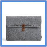 Einfacher Entwurfs-modisches Material 70% der zufriedenen die Wolle-Filz-Laptop-Hülse, kundenspezifische Fabrik bilden Laptop-Aktenkoffer-Beutel mit TasteClosing