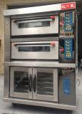 De hete Verkopende Grote Oven van het Dek van de Capaciteit van het Baksel Elektrische voor Pizza