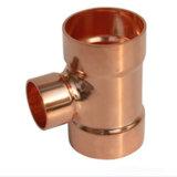 Té d'en cuivre d'ajustage de précision de pipe