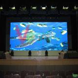 P6 vervollkommnen Anblick-Effekt-farbenreiche Miete LED-Innenbildschirmanzeige