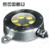Lampe et projecteur sous-marins LED 6X3w 316ss IP68 LED