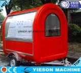 carros móveis elétricos do aquecedor de alimento da fibra de vidro de 2.25m para a venda