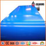 Декоративный цвет Ideabond материалов Signboard покрыл алюминиевое покрытие PE катушки