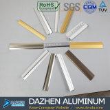 Aluminiumfliese-Ordnungs-Aluminiumstrangpresßling-Profil mit anodisiertem goldenem Silber