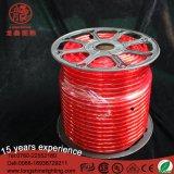 Lumière rouge imperméable à l'eau de corde de la bande DEL de corps de PVC
