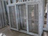 Алюминиевая дверь с защитной сеткой рамки