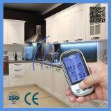 Termómetro digital inalámbrica barbacoa para la Alimentación Carne Cocina Horno Termómetro con 2 sondas