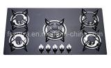Estufa de gas incorporada de cristal del proyecto casero de la cocina Jzg95001b