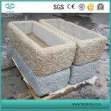 G682 granito amarillo oxidado para Kerbstone / losa / Cubestone