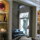 Большой размер наружного зеркала заднего вида на стене прикладное искусство / старинной наружного зеркала заднего вида