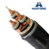 Noyaux PVC/XLPE/Rubber/3/câbles d'alimentation de cuivre