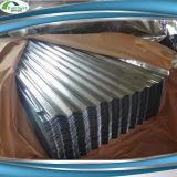 Лист толя оцинкованной волнистой стали плитки крыши металла рынка Африки