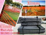Cerca anaranjada el 1X50m el 1.2X50m de la valla de seguridad plástica