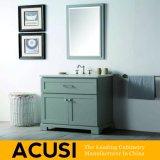 Vanité simple de salle de bains en bois solide de type de qualité de la meilleure qualité neuve (ACS1-W51)