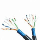 Câble extérieur de réseau du chat 6 UTP de qualité