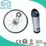Cubo de prata jogo elétrico engrenado da bicicleta com a bateria de lítio de Panasonic