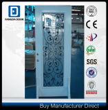 Badezimmer-Stahl 3/4 ovale GlasPrehung Tür