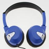 항공 사용을%s 연약한 귀 방석을%s 가진 타전된 헤드폰