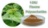 Natual純度の皮のクワの葉のエキス、1-Deoxynojirimycin 1%に30%