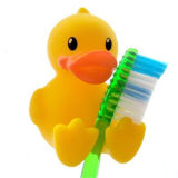 Brosse à dents mignonne Support de mur Suction Cup Cartoon Animal Sucker Stockage de salle de bain
