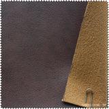 Recentemente couro do plutônio da alta qualidade de Synethic para as sapatas (S333120GD)