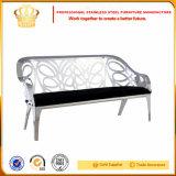 Sofá de sala de estar do assento de tela de aço inoxidável (SF881)
