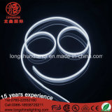 LED Blanc Simple Côté D Forme 6mm LED Neon Flex Light Strip pour Décoration De Noël