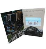 Neue Ankunfts-videobroschüre/video Buch-/Videokarte