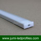 Figura di alluminio sottile piana di profilo U del LED