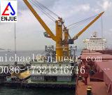 палубный судовой кран жесткого заграждения 5t 8t 10t гидровлический морской